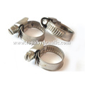Made in Taiwan Stainless Steel strong stainless steel hose clamps flexible hose clamp oval shaped