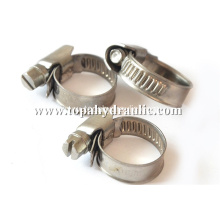 Constant tension high pressure hose black hose clamps