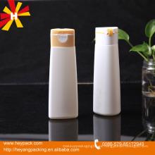 200ml / 400ml Oval HDPE Botella de champú de plástico