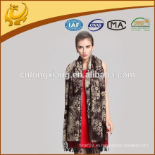 Custom Made Bajo MOQ Multi-uso turco Pashmina Shawl