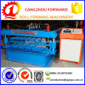 QJ 900&1000 Double Layer Roof And Wall Panel Roll Forming Machine