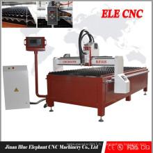 bon marché machine de découpage de plasma de commande numérique par ordinateur chinoise, découpeuse de plasma de type de table, machine coupée