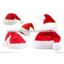 2014 new fashional Christmas cap /santa claus plush Christmas cap