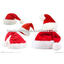 2014 novo fashional Natal boné / santa claus plush Natal boné