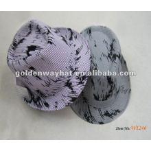 Sombreros formales del sombrero del fedora de la manera