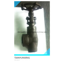 800lbs Forged Carbon Steel Right Angle Globe Valve