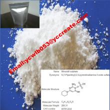 Minoxidil anti-perte matérielle pharmaceutique CAS: 38304-91-5 pour Antihypertensive