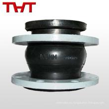 Conector de tubo flexible de goma dn 200 con caballete fijo