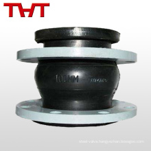 dn 200 rubber flexible pipe connector with fixed trestle