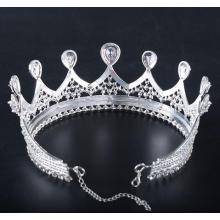 2.8 Inch Full Clear Stone Pageant Crown
