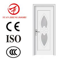 Porta de madeira de meio vidro Gj-35