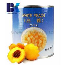 Schau köstlich Dosen Gelber Pfirsich in Sirup