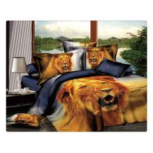 100% algodão 40s 133 * 72 reativo impresso atacado 3d cama conjuntos