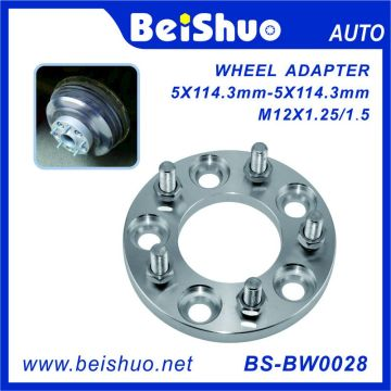 Wholesale Market Aluminum Alloy CNC Car Wheel Adapter
