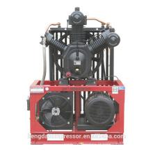 Compressor de ar 3.0Mpa com correia trapezoidal conduzido para reduzir o ruído de funcionamento