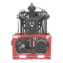 Компрессор воздуха 3,0 МПа с V-ременным приводом для уменьшения шума
