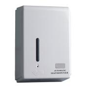 Dispensador automático de jabón blanco