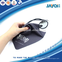 factory black glasses microfibre cloth