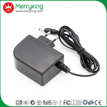 12V2000mA AC/DC EU Plug Power Adapter with Ce Certificate