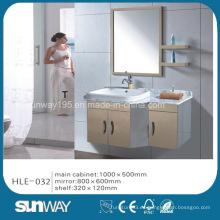 Vanidad caliente del cuarto de baño del acero inoxidable de la venta con el espejo