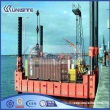 Barcaça de pontão personalizada de alta qualidade, barcaça de hélice para venda (USA3-016)