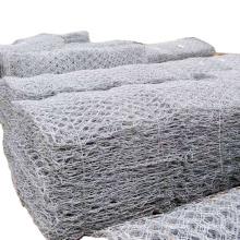 Galvanized iron wire hexagonal wire mesh gabion box