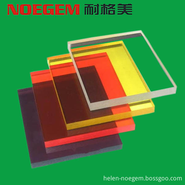 Colorful Pc Polycarbonate Sheet