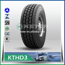 Échantillons Radial Truck Tire 385 65 R 22.5 Camion Radial Tire 7.00r16
