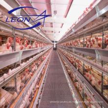 CE fabricante automático de equipos para jaulas avícolas