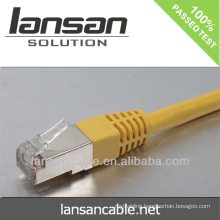 Network jumper cable with RJ45 connector (CE/ROHS/ISO/UL/CCC certificates)