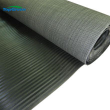 manufacture of wide ribbed rubber sheet mat in roll