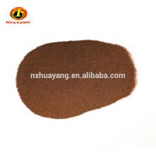 Raw abrasive garnet mesh 80