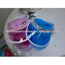 2014 neue PVC Sonnenblende Kappe