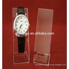Affichage acrylique transparent de montre