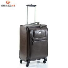 """Chubont High Qualilty Genuine Leather Luggage Trolley Size 20"""""""