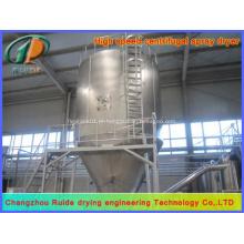Torre de secagem por pulverização de fertilizante composto