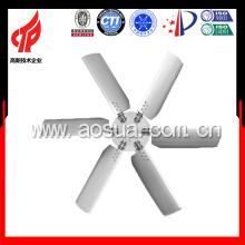 Ventilador de aleación de aluminio de la torre de enfriamiento, ajustable