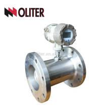 Ду100 или подгонянный топлива масла воздуха воды цифровой турбины Тип турбины расходомер