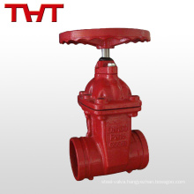 NPT fire protection 50mm gate valve price
