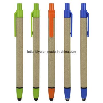 Recycled Paper Stylus Ball Pen (LT-C814)