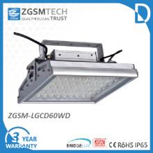60W diodo emissor de luz do dossel com Chips Bridgelux LED