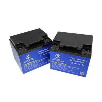 12.8V 50Ah Lithium Battery