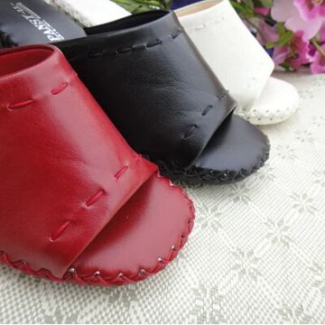 Pansy Comfort Shoes Ergonomic Heel Height Indoor Slippers