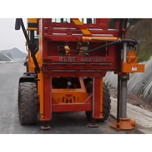 Road Piling Guardrail dedusting machine