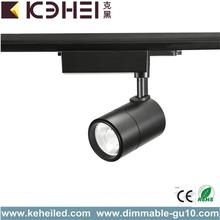 Adjust Black 7W LED Track Lights