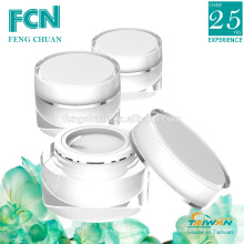 Gelé acrylique en plastique de qualité cosmétique 15ml 20ml 30ml 50ml 100ml