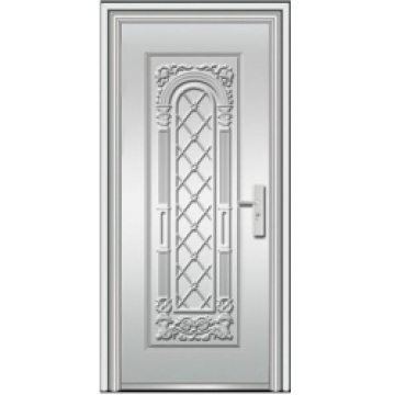 exterior stainless steel doors