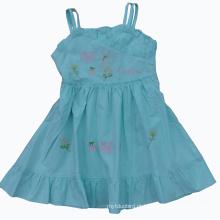 Vestido bonito do verão para a roupa quente das crianças da venda (SQD-124)