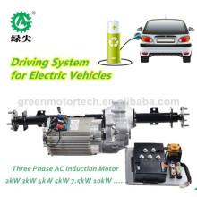 Kit de montagem ac de acionamento de veículo elétrico de 60v 5 kw