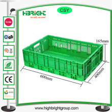Storage Foldable Plastic Crate Bins Container